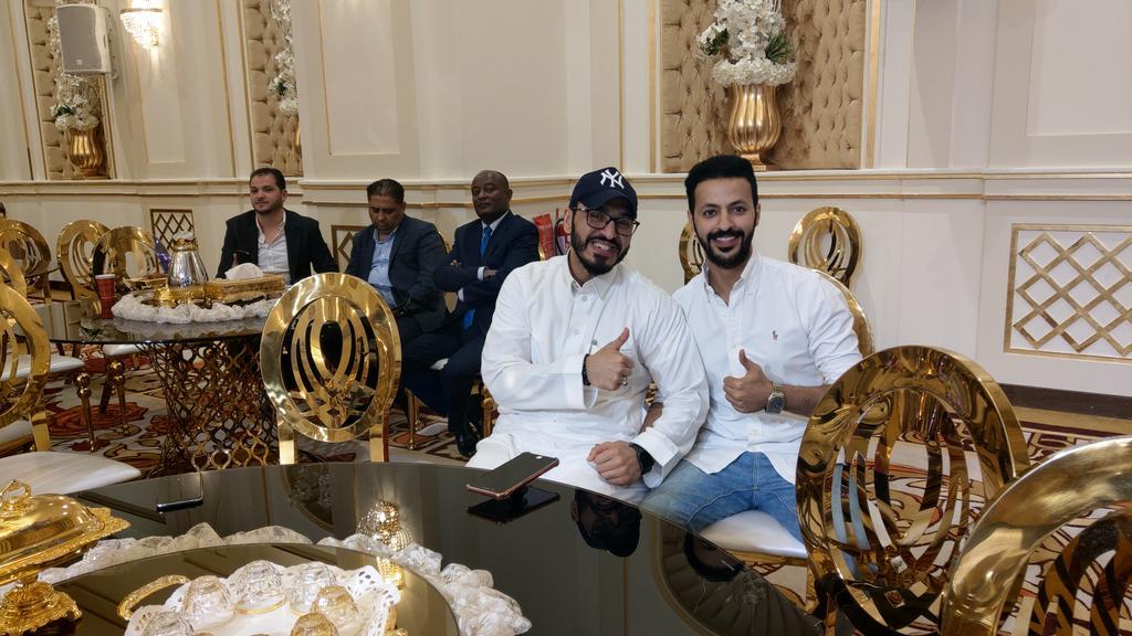 حضور سلطان الشدادي ومحمد غازي