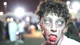 تغطية  مهرجان الرعب في جدة
