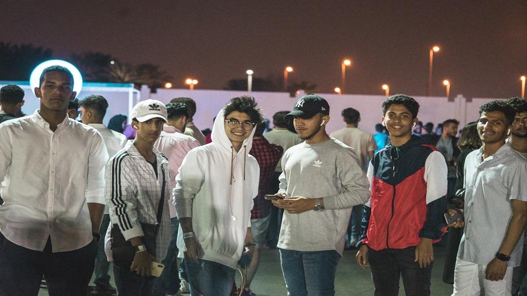 مهرجان الرعب  في جدة